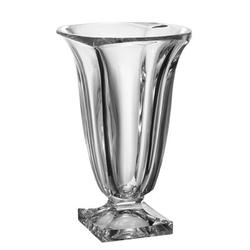 Majestic Crystal Crystalline Footed Table Vase Glass, Size 13.5 H x 7.5 W x 7.5 D in | Wayfair 97110-13