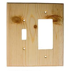 Sierra Lifestyles Traditional 2-Gang Toggle Light Switch/Rocker Combination Wall Plate, Size 6.38 H x 5.0 W x 0.25 D in   Wayfair 682577
