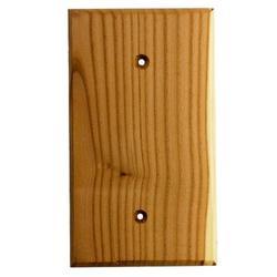 Sierra Lifestyles Traditional Blank Wall Plate in Green, Size 5.38 H x 3.18 W x 0.25 D in   Wayfair 682789