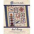 Lunch Box Quilts Sail Away Applique Embroidery Quilt Pattern with Redemption Code & Backup CD for Use with Embroidery Sewing Machines