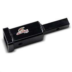 Orange Cycle Parts EZ Hitch Adapter Converts 1-1/4in to 2in Receiver Opening for ATV / UTV (Black) by All Balls 43-1004