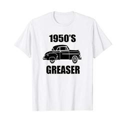 Mens 1950's Greaser Car Show Shirt 1950s Clothing Sock Hop T-Shirt