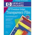 HP Premium InkJet Transparency Film 50 Sheets (C3834A)
