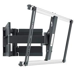Vogel's THIN 550 ultra strong full-motion TV wall mount for large (40-100 inch) or heavy (max. 154lbs / 70 kg) TVs | Swivels up to 180º | Tiltable | Max. VESA 600x400 | Ultra slim TV wall mount