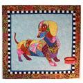 Dagwood Dachshund Dog Animal Fusible Applique Quilt Pattern BJ Designs