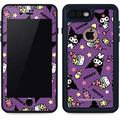 Skinit Waterproof Phone Case Compatible with iPhone 7 Plus - Officially Licensed Sanrio Kuromi Pattern Design