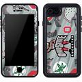 Skinit Waterproof Phone Case Compatible with iPhone 7 - Officially Licensed Ohio State University Ohio State Pattern Design