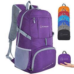 ZOMAKE Hiking Backpack 35L Lightweight Backpack Water Resistant Packable Backpack Travel Daypack for Women Men