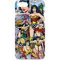 Skinit Lite Phone Case Compatible with iPhone 8 - Officially Licensed Warner Bros Wonder Woman Comic Blast Design