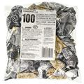 """amscan Décor Happy Birthday Confetti Printed Latex Balloons   Black, Silver, Gold   Pack of 100   Party Decor, 12"""""""