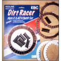 1987-1988 KAWASAKI FOUR WHEELERS KXF 250 A2 TECATE 4 CLUTCH KIT / KAWASAKI, Manufacturer: EBC, Manufacturer Part Number: CK4475-AD, Clutch springs and metal discs sold separately, unless otherwise stated, Stock Photo - Actual parts may vary.