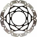 EBC Brakes Supermoto Carbon Fiber Look Contour Brake Rotor Kit