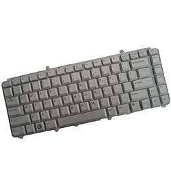 New Laptop Keyboard Replacement for Dell Inspiron 1318 1420 1520 1521 1525 1526 XPS M1330 M1530 PN:NK750 MU194 0MU194 0NK750 US Layout Silver Color