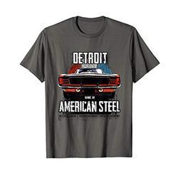 Muscle Car Detroit Steel T-Shirt