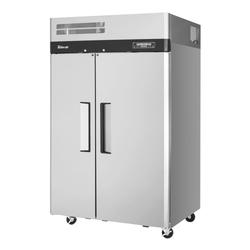 """Turbo Air M3RF45-2-N 50"""" Two Section Commercial Refrigerator Freezer - Solid Doors, Top Compressor, 115v"""