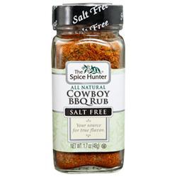 """""""Cowboy BBQ Rub Blend, 1.7 oz x 6 Bottles, Spice Hunter"""""""