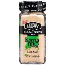 """Korean BBQ Global Fusion Rub, 2.6 oz x 3 Jars, Spice Hunter"""