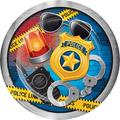 Creative Converting Police Party Paper PlatePaper in Blue/Yellow | Wayfair DTC329420DPLT