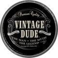 Creative Converting Vintage Dude Paper PlatePaper in Black   Wayfair DTC425567DPLT