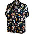 Las Vegas Lucky Shirt for Men's 3898Black M