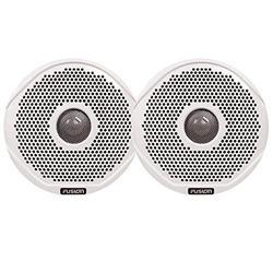 "FUSION MS-FR6GW-6 6"" Pair White Grills f/FR6021 & FR6022"