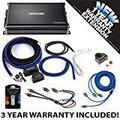 Kicker 43CXA12001 Car Audio Sub Amp CXA1200.1 & 1/0 GA Amplifier Accessory Kit - 3 Year Warranty!