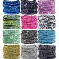 Headband Head Wrap Headwear Sport Sweatband 280 Patterns 12 in 1 Magic Scarf 12PCS 9PCS & 6PCS by VANCROWN (12PCS.Paisley)