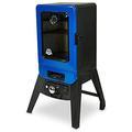 Pit Boss Electric Smoker Steel in Black/Blue/Gray, Size 41.0 H x 23.0 W x 21.5 D in   Wayfair 77220