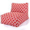 Wade Logan® Banas Standard Bean Bag Lounger Cotton/Cotton Blend in Red, Size 24.0 H x 27.0 W x 36.0 D in | Wayfair 86D6052206E74B49B7707D5675356BE4