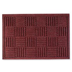 "Water & Dirt Shield Parquet Door Mat - Charcoal, 35"" x 82"" - Frontgate"
