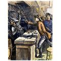 William H Bonney N(1859-1881) Known As Billy The Kid American Desperado Billy The Kid Shooting A Drifter Who Had Pointed A Gun At Him Wood Engraving American Late 19Th Century Poster Print by (24 x 3