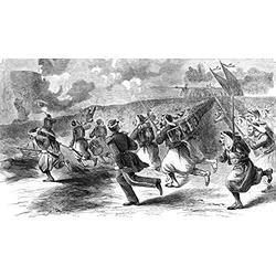 Civil War Zouaves 1861 Nthe Charge Of DuryeeS Zouaves The Fifth New York Volunteers Regiment At The Battle Of Big Bethel June 10 1861 Poster Print by (18 x 24)