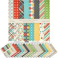 """Pattern Paper Pack - Back to School - Scrapbook Premium SpecialtyPaper Single-Sided 12""""x12"""" Collection Includes 16 Sheets - by Miss Kate Cuttables"""
