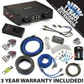 Kicker 44KXA8001 Car Audio Sub Amp KXA800.1 & 4 GA Amplifier Accessory Kit - 3 Year Warranty!