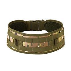Tactical Belt Molle Military Style Heavy Duty Belt Waist Belt Tactical Sports Belt for Men and Women 1000D Nylon Belt 4.3 inch Wide with Plastic Buckle Color-Multicam ACU Black Tan AOR1 AOR2