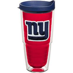 Tervis NFL New York Giants Made in USA Double Walled Insulated Tumbler, 24oz, Primary Logo - Red Inner