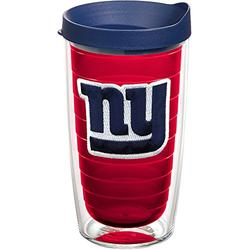 Tervis NFL New York Giants Made in USA Double Walled Insulated Tumbler, 16oz - Tritan, Primary Logo - Red Inner