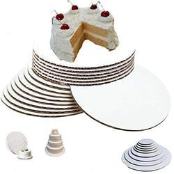 Pack of 50 7 inch cake circles round cake boards 7 inch cake cardboard rounds Pizza and Cake Circle Cake Board Circles cake circles 7 inch cake boards 7 inch round