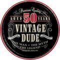 Creative Converting Vintage Dude 40th Birthday Dessert PlatesPaper in Red   Wayfair DTC411567PLT
