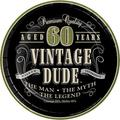 Creative Converting Vintage Dude 40th Birthday Dessert PlatesPaper in Green   Wayfair DTC411667PLT