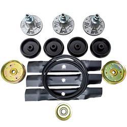 """Deck Rebuild Kit Compatible with John Deere 48"""" Lawn Mowers D150, D160, LA130, LA140, LA145, LA155, LA165, X140, X165, Z245, Z255, 145, 155C"""