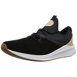 New Balance Men's Fresh Foam Lazr V1 Running Shoe, Black/White, 7 D US