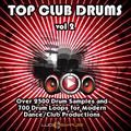 Top Club Drums Vol.2 - Over 2500 Fresh Drum Samples and 700 Drum Loops | Apple Loops/ AIFF (24Bit) | DVD non Box
