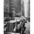 Howard Hughes (1905-1976) Namerican Industrialist Aviator And Film Producer Waving To Crowds During A Ticker Tape Parade Up Broadway In New York City 15 July 1938 One Day After Completing His Flight A
