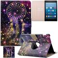 Artyond Kindle Fire HD 8 Case, Ultra Lightweight PU Leather Case Flip Stand Magnet [Auto Wake/Sleep Feature] Slim Folio [Cards Slots] Smart Case for Amazon Kindle Fire HD 8 2016 Release (Dream)