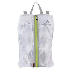 Eagle Creek Travel Gear Pack-it Specter Shoe Sac, White/Strobe, One Size