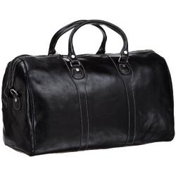 Floto Luggage Milano Duffle Bag, Black, One Size