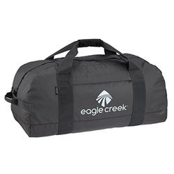 Eagle Creek No Matter What Duffel Bag-Water-Resistant Carry On Luggage for Travel, Black, One Size