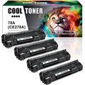 Cool Toner Compatible Toner Cartridge Replacement for Canon 118 Toner Cartridges 118 Canon MF8580Cdw MF726Cdw Toner Imageclass MF8380Cdw MF8350Cdn LBP7660Cdn (Black Cyan Magenta Yellow,4-Pack)