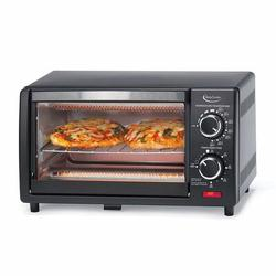 Betty Crocker 0.03 Cu. Ft. Toaster oven in Gray, Size 9.0 H x 16.0 W x 11.0 D in   Wayfair BC-1664CB